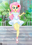 Our date with Fluttershy!! :D by charlieXe