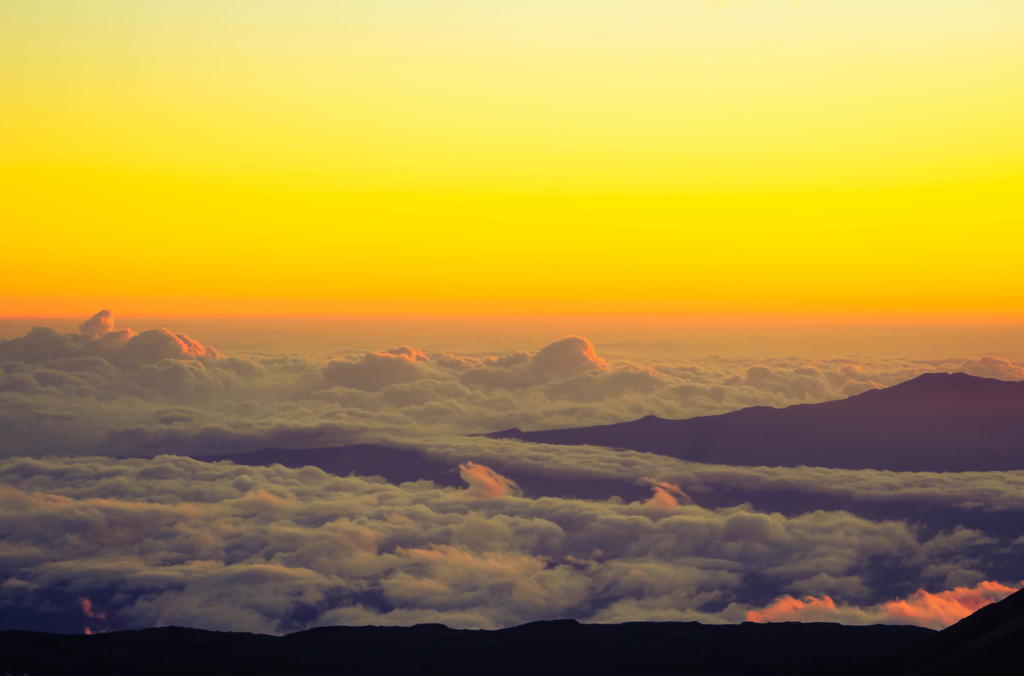 In the highs of Mauna Kea Observatory, Hawaii. by NohemyAnn