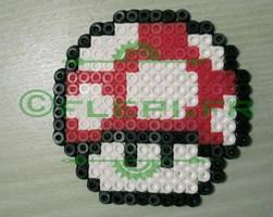Mario mushroom by flepi