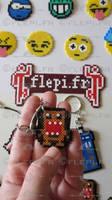 Domokun keychain by flepi