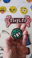 Mister Green keychain by flepi