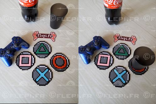 Inspiration Playstation coaster by flepi