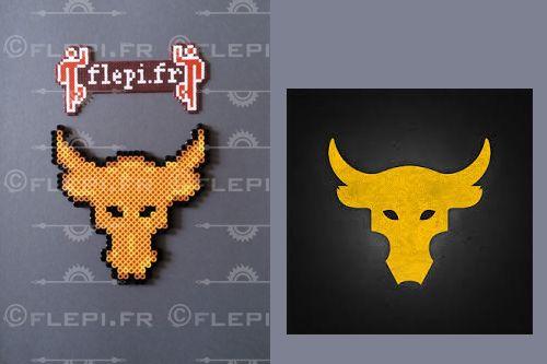 Inspiration Logo The Rock clock by flepi