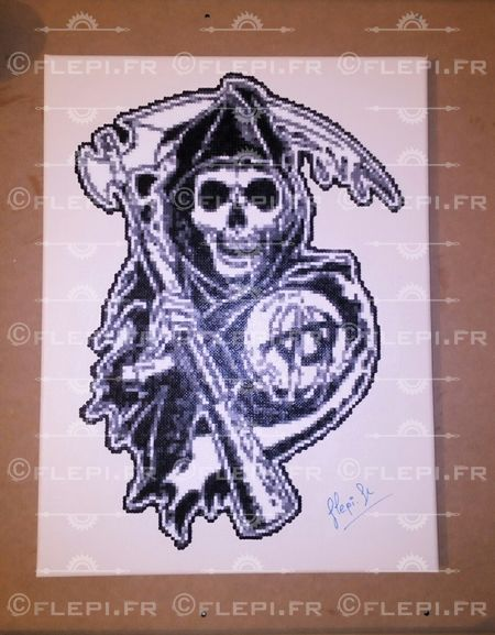 Ripper from Sons of Anarchy [fan art ] by flepi