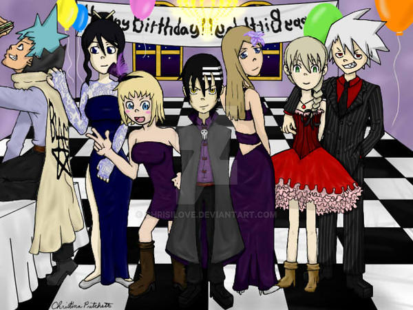 Soul Eater Birthday Party By Chrisilove