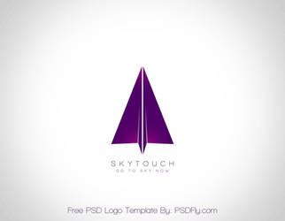 Free PSD Logo Template by PSDFly