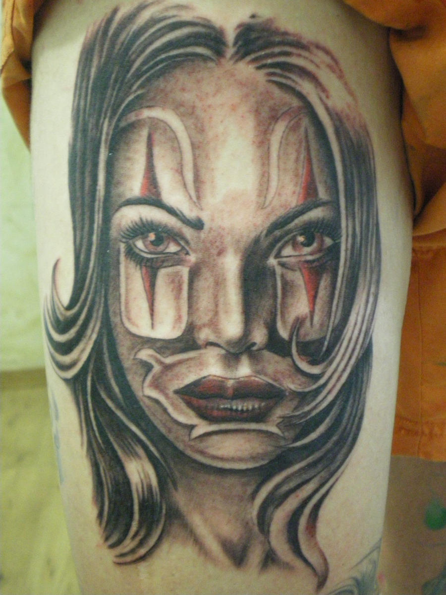 chicano by didatattoo traditional art body art miscellaneous 2010 2011 ...