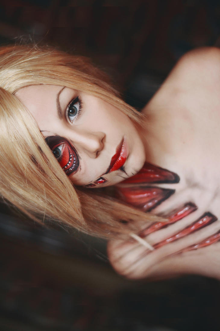 Annie Leonhardt the Female Titan by ImNotMizu