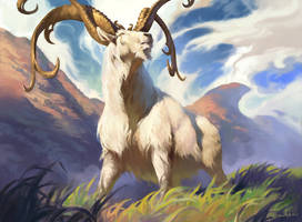 MtG: Thriving Ibex