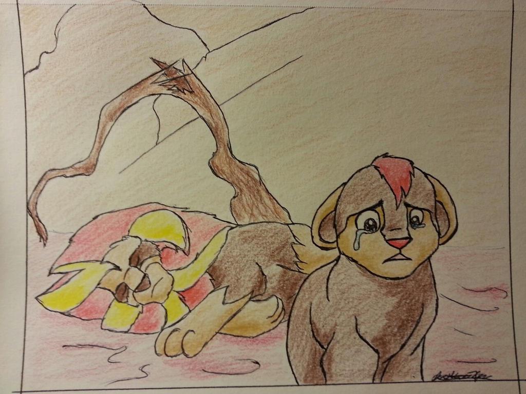 La influencia del rey león en el mundo pokemón Crossover_by_mango_cat-d6md57l