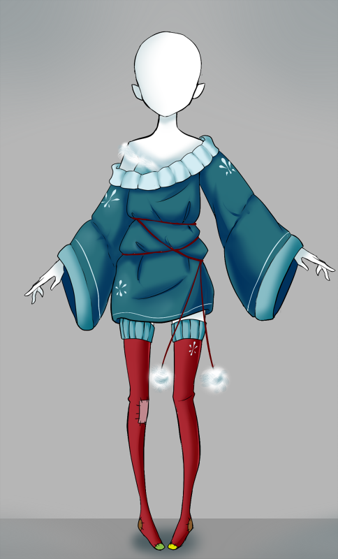 Adoptable outfit #12 - [Auction - CLOSED] by Eggperon on DeviantArt