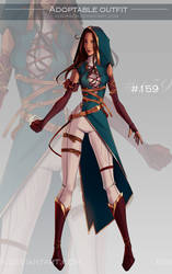 [CLOSED-Auction] Adoptable outfit #159 by Eggperon