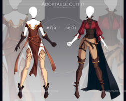 [CLOSED-Auction] Adoptable outfit #170-171