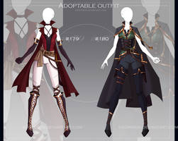 [CLOSED-Auction] Adoptable outfit #179-180