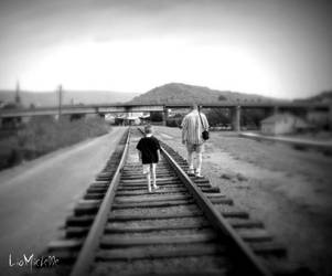 The Boy and His Dad by LiaMichelle10