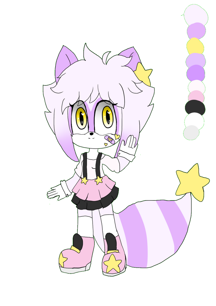New oc and new artstyle QwQ by Wattiee