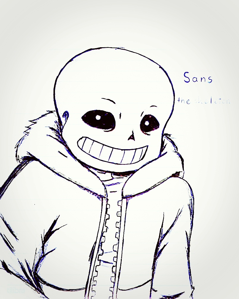 Sans The Skeleton By Yumevhm On Deviantart