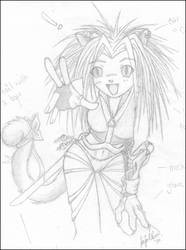 kitty girl by jenRAMPAGE