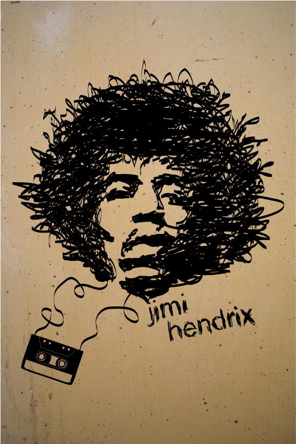 Jimi Hendrix by NickDart