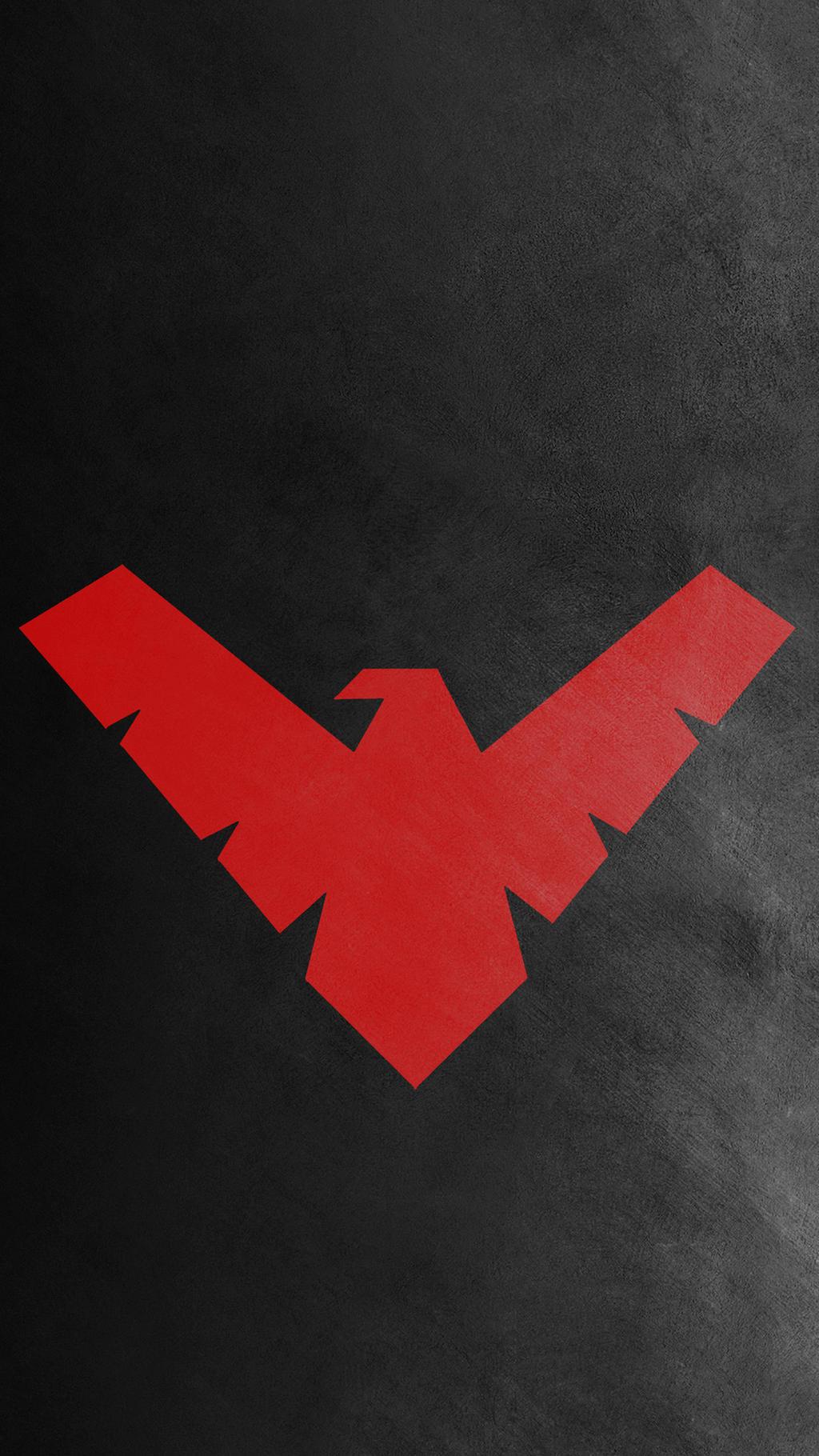 nightwing red logo wallpaper - photo #16