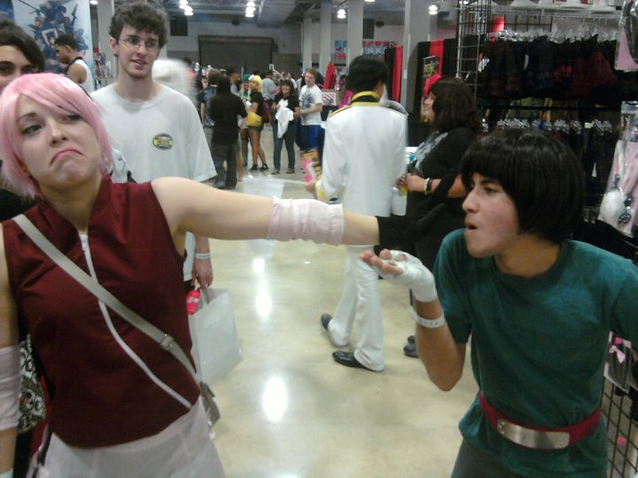 Rock Lee Cosplay - FSC 2011 by Lurrdoc