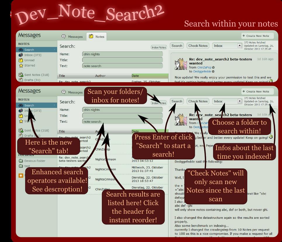 Dev_Note_Search2 by Dediggefedde