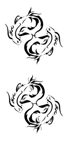 Zodiac Tattoo Designs With Image Zodiac Symbol Picture Tribal Pisces Tattoo 9