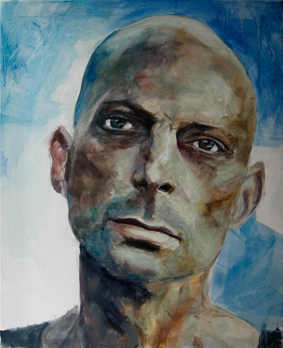 Christian Oil Portrait by StefanRess
