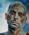 Christian Oil Portrait