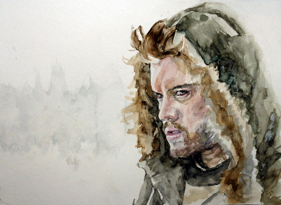 Into the Wild. Watercolour by StefanRess