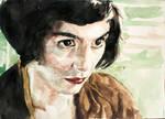 Amelie Poulain Watercolour 2