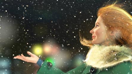 First Snow by AntaraNN