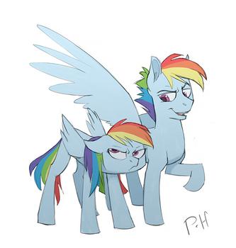 Rainbow Dash + Rainbow Blitz
