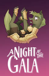 Night at the Gala Fanfic Cover