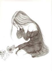 bye bye teddy by angrboda555