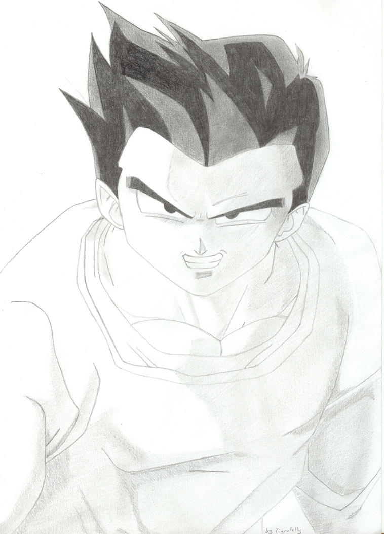 Dragon Ball Z Drawings 3 By Pignatelly On Deviantart