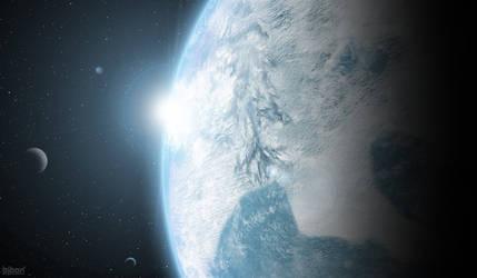 New Siberia's glowing atmosphere by bjbon14