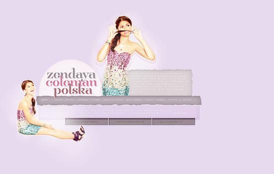 Zendaya Coleman Wordpress Theme