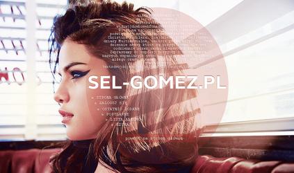 PREMADE : Simple Selena Gomez gallery header