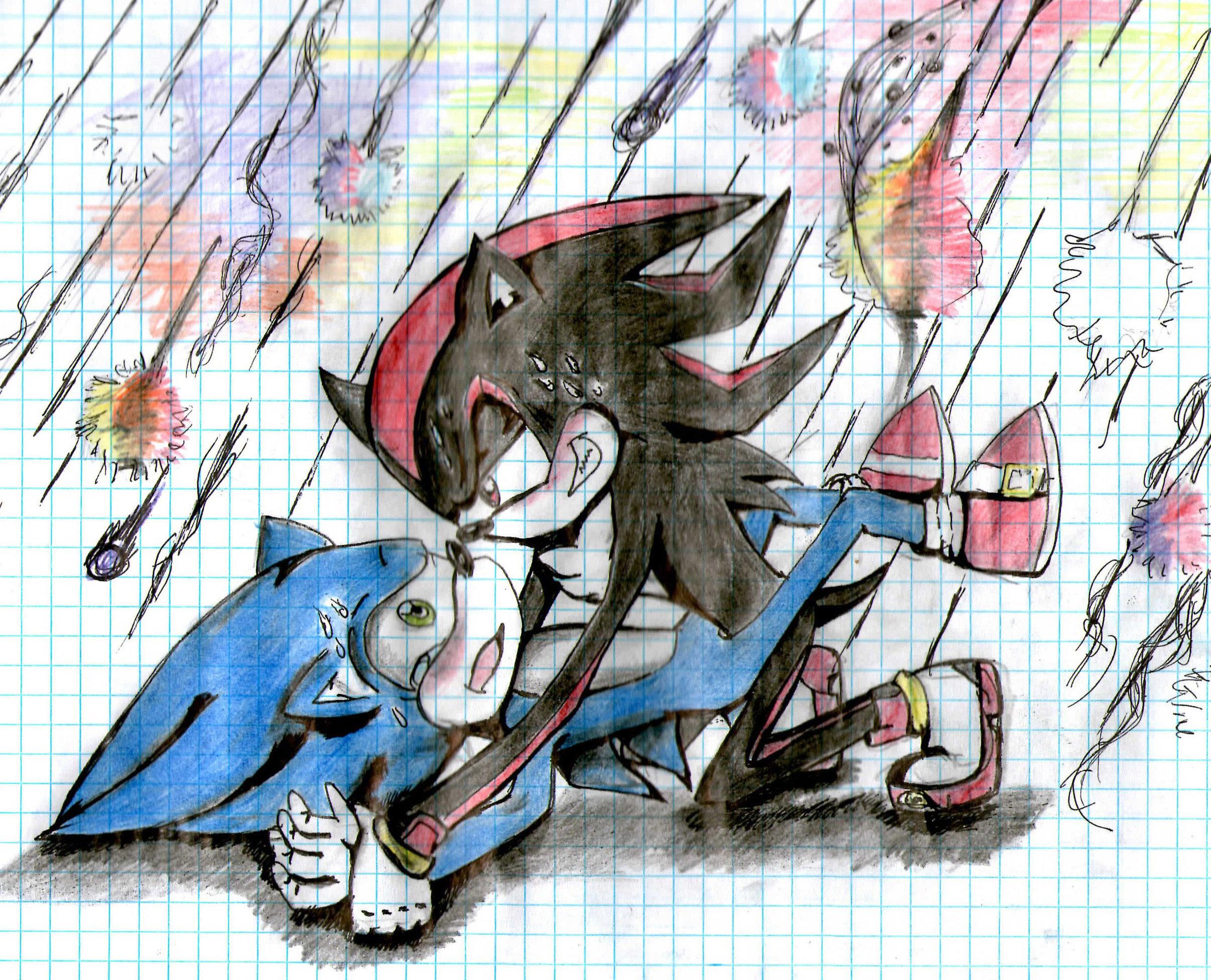 Shadow x sonic yaoi fanfiction