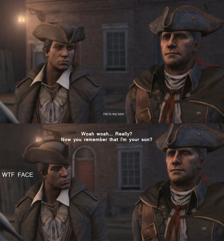Assassin S Creed Connor And Haytham By Supersaturationwolf On