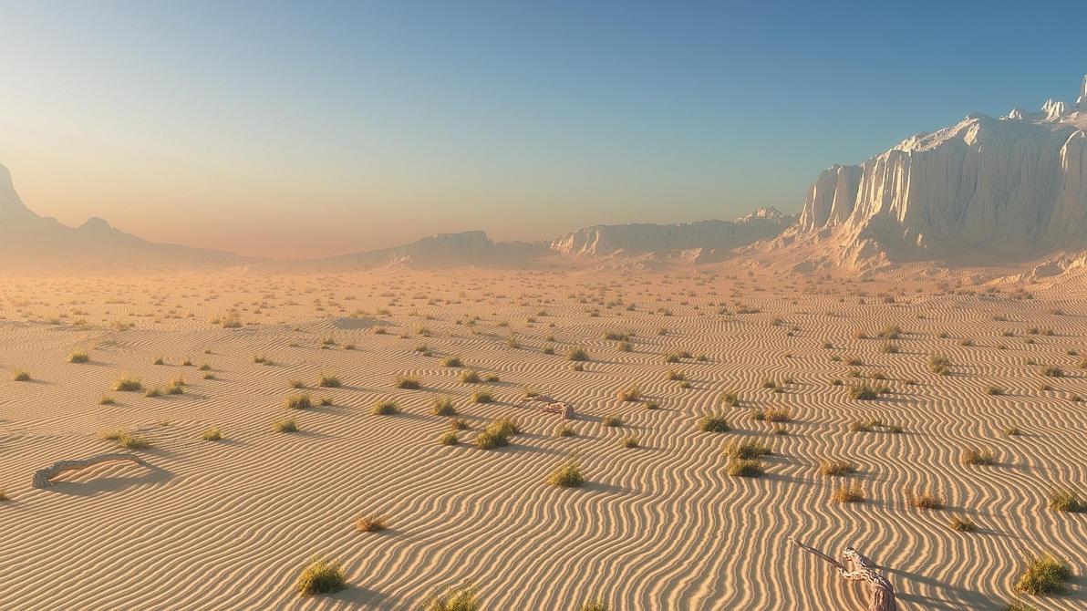 Hot Desert By Redgarowski On DeviantArt - A hot desert
