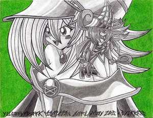 Dark Magician Girl Green