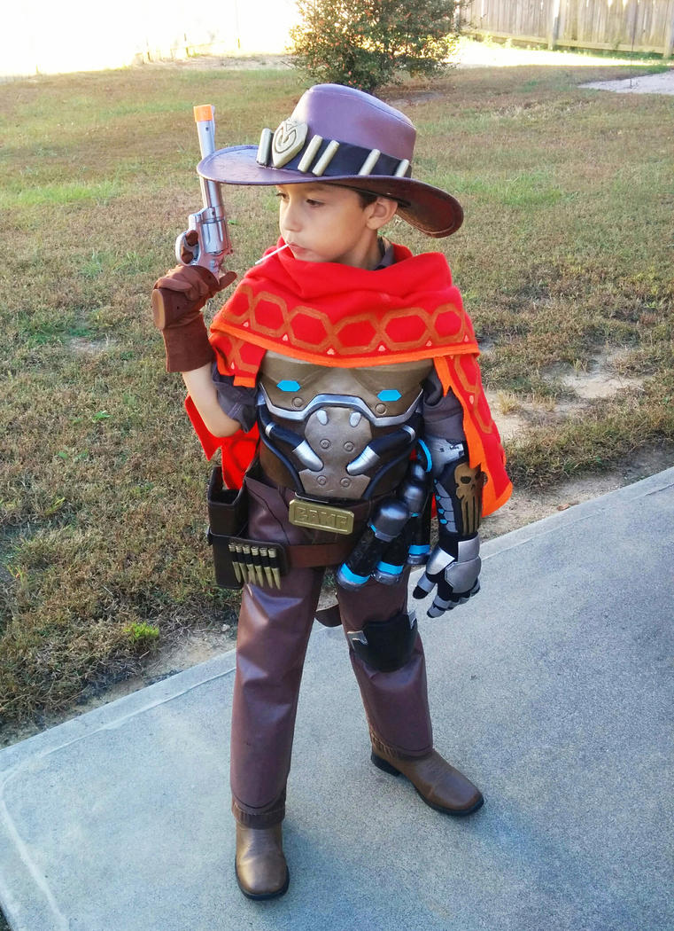 Jesse McCree Cosplay by LordDiablo006