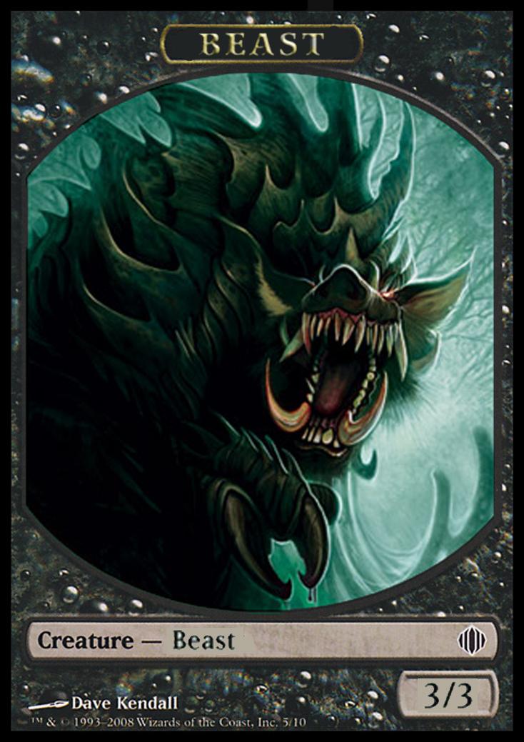 image relating to Printable Mtg Tokens identify The Terrific Creature Token Challenge - Magic All round - Magic