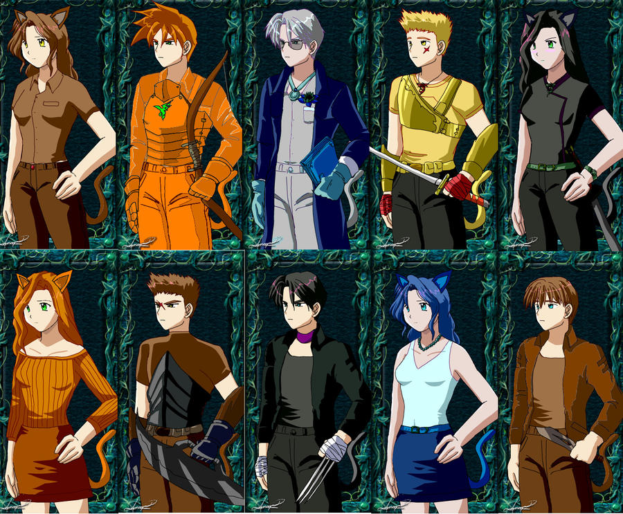 Warrior Cats as Humans Anime Warrior Cats as Humans by