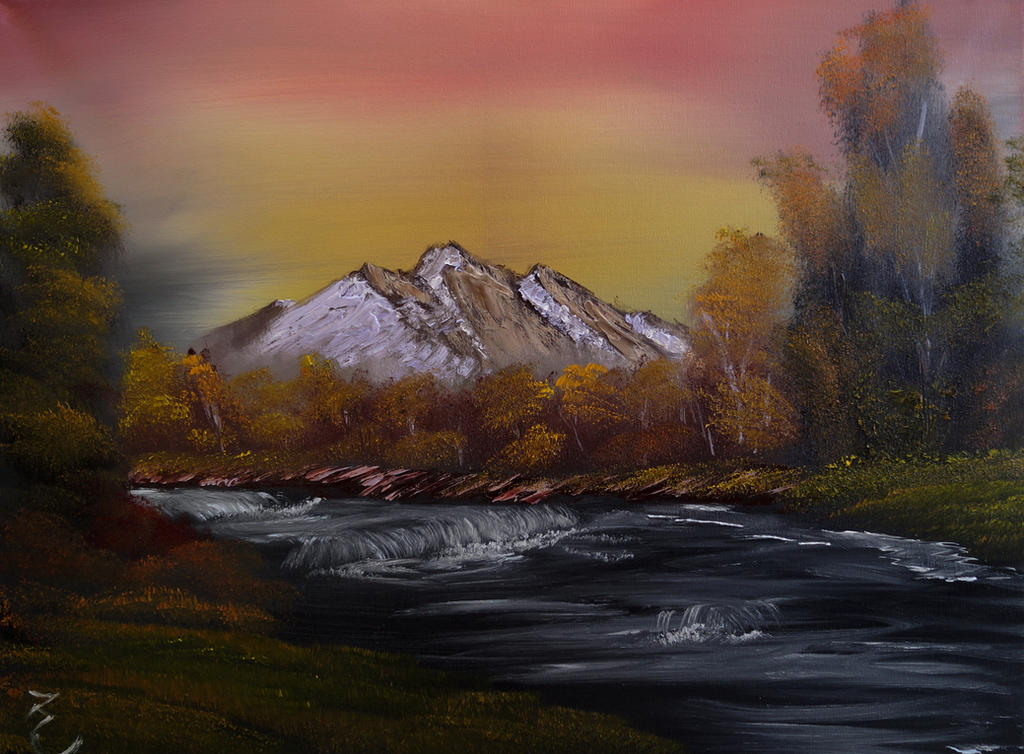 Autumn Painting Aug 8 2016 by artfreak5