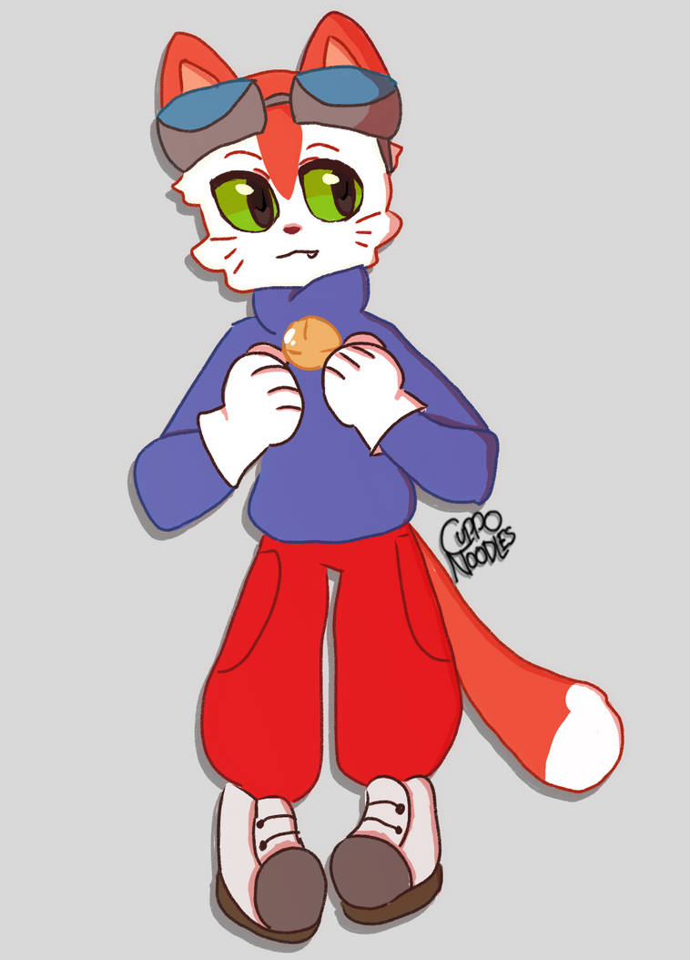 Blinx Commission by CuppoNoodles