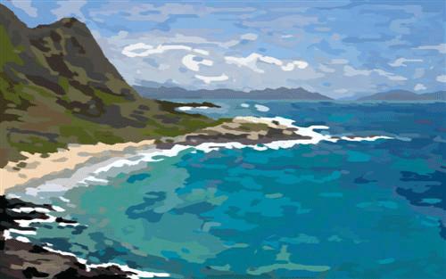 Beach - Progress by Qzma