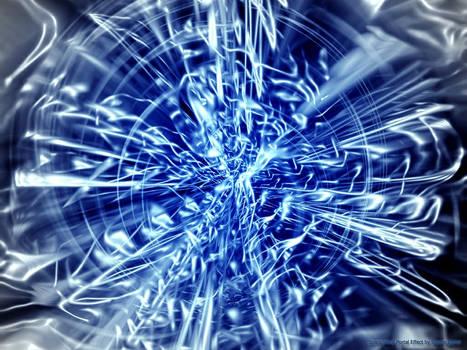 Space Warp Portal Effect
